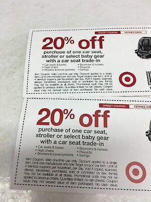 Two Target 20 Off Car Seat Or Stroller Oct 6 Coupons