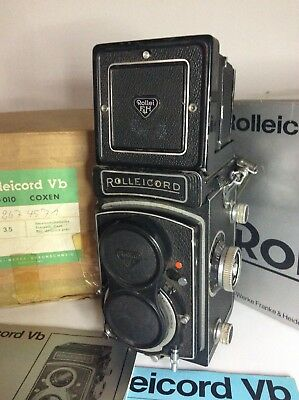 Rolleicord Vb Medium Format Camera with Xenar 75mm 3.5
