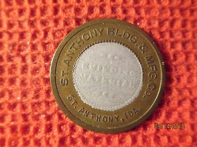 St. Anthony, Idaho Bi Metal Merchandise Trade Token