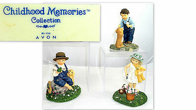 Vintage Avon Childhood Memories Exclusives Figurines