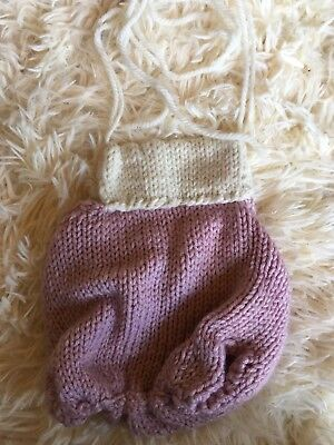 newborn photography prop Romper Knitted