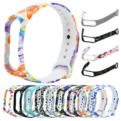 Replacement Silica Gel Colour  Watch Band For Xiaomi Mi Band 3 Bracelet UK