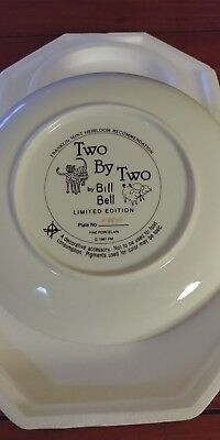 "Franklin mint ""Two By Two"" By Bill Bell collector plate"