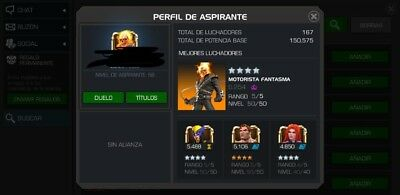 MCOC account just marvel account NO email