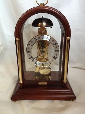 Hermle Excellent Condition Stunning Vintage  Passing Strike  Skeleton  Clock