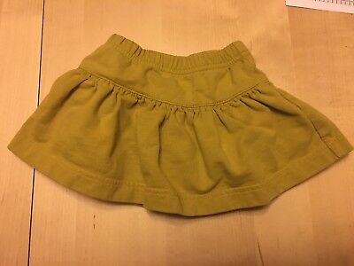 Tea Collection Skort, Green/yellow, 6-12 Months, Really Cute!