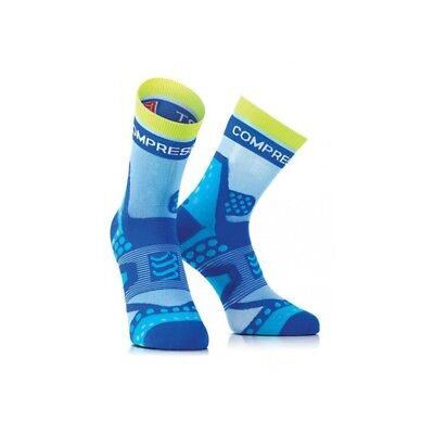 Compressport ProRacing Socks, Ultralight 12g, Run Socks, Blue  Size T3