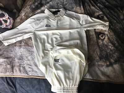 Slazenger Cricket whites, top and trousers