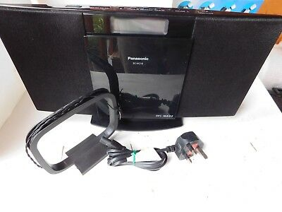Panasonic SC-HC10 Audio Shelf System Radio USB CD working no remote free pp UK