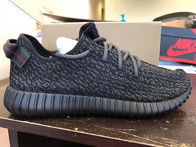 4e9ca1d863b8d Yeezy 350 Boost Pirate Black V1 V2 2015 AQ2659 Size 12 New Adidas 100%  AUTHENTIC
