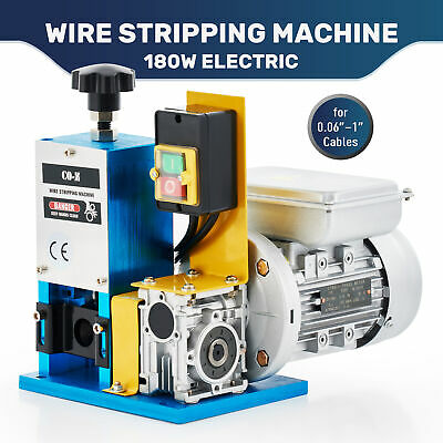 1/4HP Electric Wire Stripping Machine Copper Cable Peeling Stripper Recycle Tool