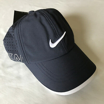 NEW 2017 TOUR Issue Nike Stay Cool Perforated Hat Vapor RZN Adjustable Navy b98a1b15e43