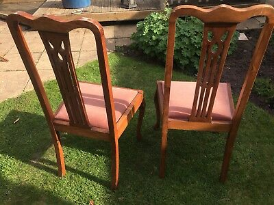 Pair of Edwardian Dining Chairs