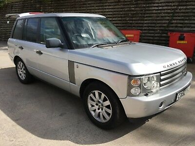 2003 Land Rover Range Rover Hse Td6 Auto Starts And Drives Spares Or Repair