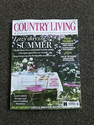 Country Living Magazine Issue June 2018 ~ New ~