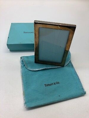 Vintage Tiffany & Co. Silver Plate Picture Frame 3 1/8 X 4 1/2