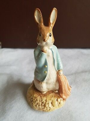 Royal Albert, Beatrix Potter figurine of Peter and the Red Pocket Handkerchief