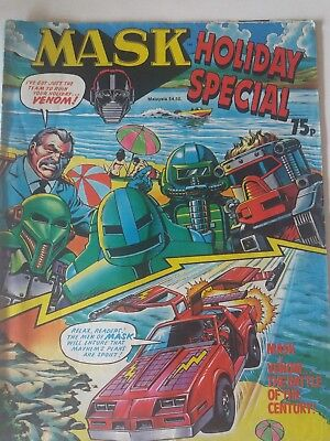 Mask comic UK holiday special.