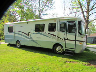 """Class """"A"""" Holiday Rambler Endeavor Diesel Motorhome with slideout."""