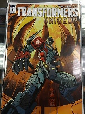 Transformers Unicron RI-B Covers Four Issues(#1-4)