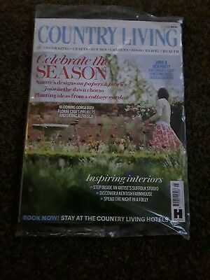 Country Living Magazine Issue May 2018  New ~