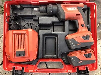 Hilti ST 1800-A22 Tech Gun, Metal Construction Screwdriver, 22v Lithium-ion