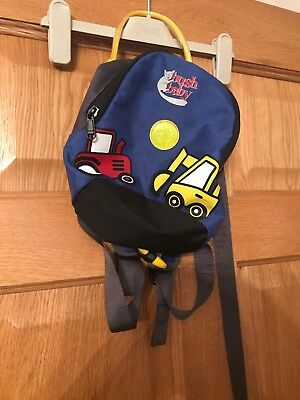 Bush Baby Boys Bag With Safety Harness