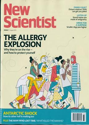 NEW SCIENTIST MAGAZINE 11th AUG 2018 SPECIAL OFFER BUY ANY 6 ISSUES FOR £10.00