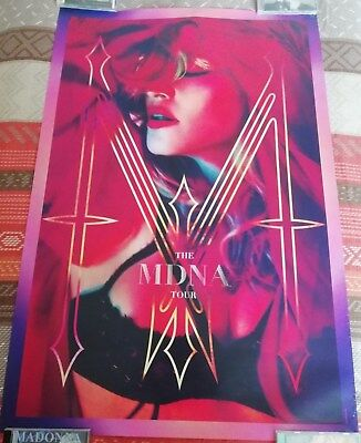 Madonna MDNA Tour 2012 Exclusive Poster ICON Live Pass Pre-Sale Poster Boy Toy