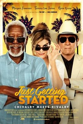 Just Getting Started - original DS movie poster - 27x40 D/S 2017