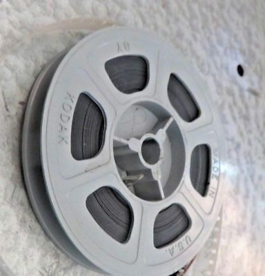 KODAK MYSTERY REEL Vintage 1940s KODACHROME 8mm Home Movie Film Reel P85