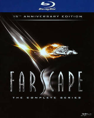 Farscape: The Complete Series (Blu-ray Disc, 2013, 20-Disc Set)