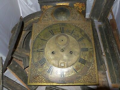 Antique James Bush Tower Streer London long case clock Spare Parts only