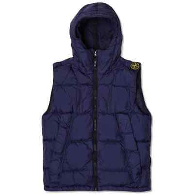 Stone Island Garment Dyed Crinkle Reps NY Hooded Down Gilet  6115G0323-V0026