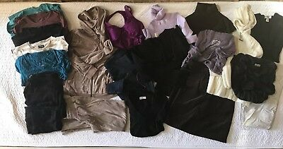 Huge Lot Of 22 maternity clothes size small  Fall Winter Wardrobe, Great Basics
