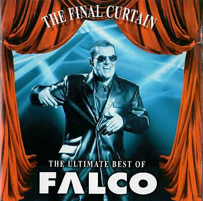 """Cd """" Falco - The Final Curtain - The Ultimate Best Of """" 17 Hits (Jeanny)"""