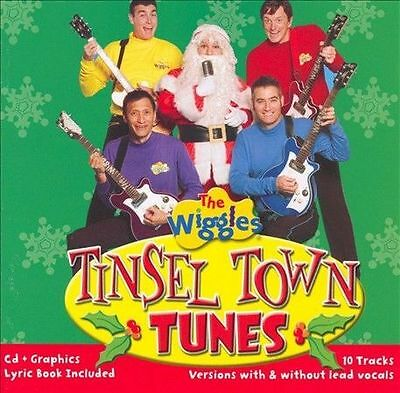Wiggles-Tinsel Town Tunes CD NEW