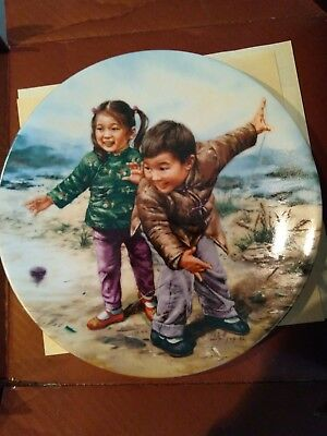 Fine China collectors plate in the Artist of the World series BRAND NEW