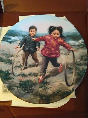 Fine China collectors plate in he Artistof the World Series - children BRAND NEW