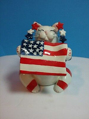 Amy Lacombe 2001 Patriotic Cat