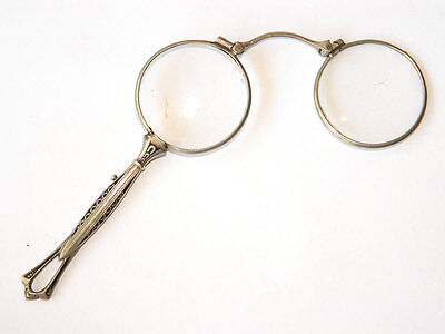 Antique Vienna Secession Artstyle Lorgnettes Antique Handheld Eyeglasses Nielo