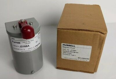 W01 - NEW! Hubbell Furnas Magnetic Chuck, Drum Switch DC 115-230 1500W - J2166A