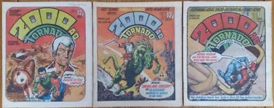2000Ad #149,150 & 151 (First Judge Death And Judge Anderson) Mega City Tv Show!