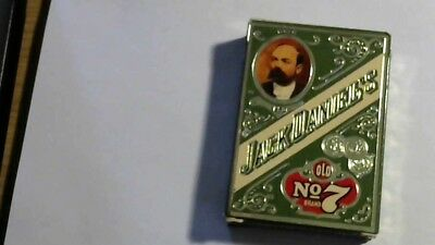 Vintage Jack Daniels Playing Cards Old No 7 Gentlemens Poker 1980's