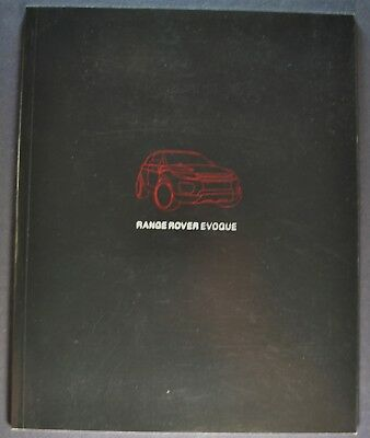 2011 Range Rover Evoque Catalog Sales Brochure Excellent Original Canadian