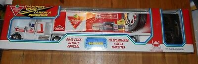 1x Sealed Canadian Tire Transport Truck Motomaster Dual Stick Remote Control