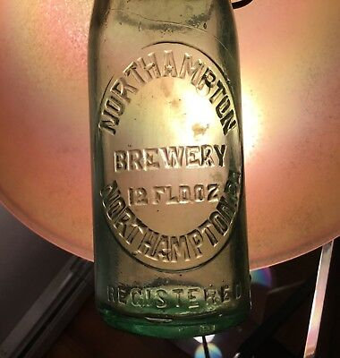 Antique Northampton Brewery Beer Bottle Northampton PA Advertising Breweriana