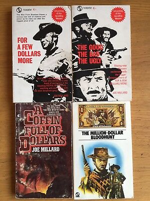 Clint Eastwood Movie Tie In Western Cowboy Books Dollar Westerns Man With No Nam