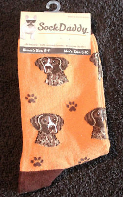 German Shorthaired Pointer Dog Breed Lightweight Stretch Cotton Adult Socks