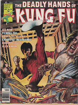 Deadly Hands of Kung Fu   # 26    1976       VG/FN